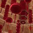 Chinese New Year Decors at Bellagio