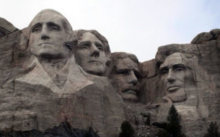 Georyl and Family Visit The Mount Rushmore