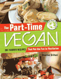 The Part Time Vegan book cover