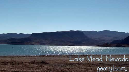 another view of lake mead, nevada
