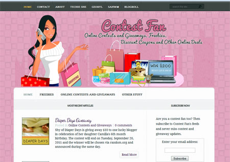 blog for sale