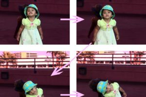 how to pose like a baby