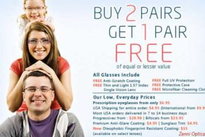 zenni optical eyeglasses promo