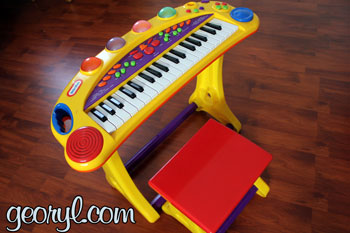 portable keyboard for babies
