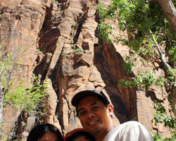 Summer Camping at the Zion National Park