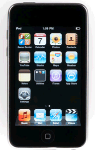 ipodtouch 2nd generation black