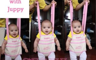 Juppy Baby Walker Review and Giveaway