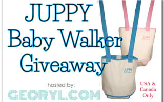 Free Blogger Opps: Juppy Baby Walker Giveaway