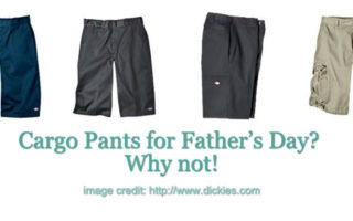 Cargo Pants as Gift For Father's Day? Why Not?