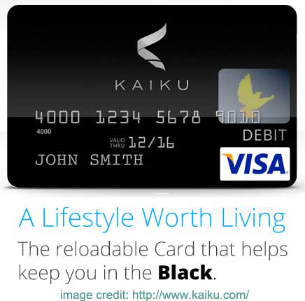 kaiku debit card the kaiku prepaid visa - Kaiku Visa Prepaid Card