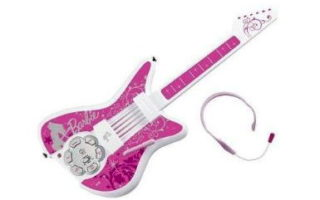 Our Garage Sale Find: Barbie Guitar