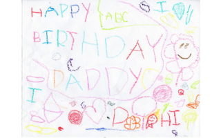 A Birthday Card for Daddy
