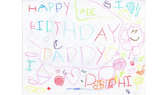A Birthday Card For Daddy Georyl