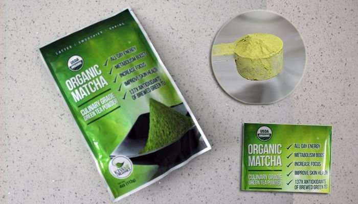 matcha grren tea powder