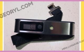 Product Review: Mira Digital Luggage Scale