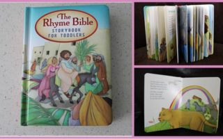 Book Review: Rhyme Bible Storybook for Toddlers