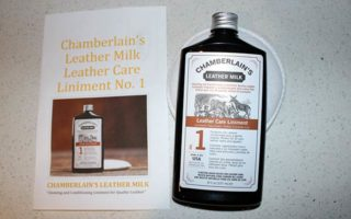 Product Review: Leather Care Liniment No. 1 from Chamberlain