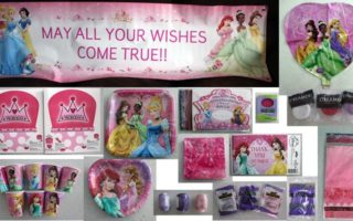 Product Review: Disney Very Important Princess Dream Deluxe Party Pack for 8