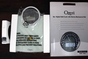 ozeri bath scale