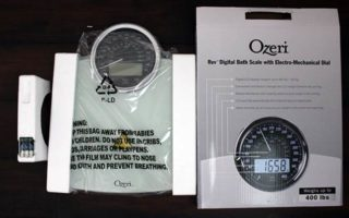 Product Review: Ozeri Digital Bath Scale