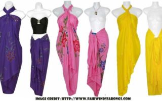 Four Sarong Styles That Make Stunning Outfits