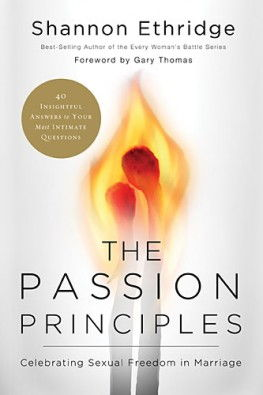 the passion principles book