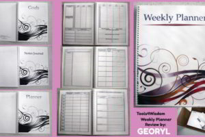 Product Review: Tools4Wisdom Weekly Planner