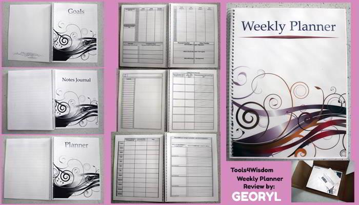 tools4wisdom weekly planner