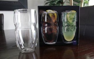 Product Review: Serafino Double Wall 16 oz. Insulated Drinking Glasses