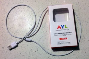 AYL Apple Certified 3-feet Lightning Cable – Product Review