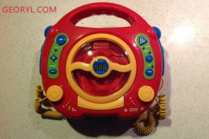 Sing-a-long CD & MP3 Player from Kidzlane – A Product Review