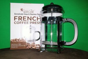 Francois et Mimi Single Wall Borosilicate Glass French Coffee Press – Product Review