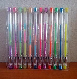 ink gel pens
