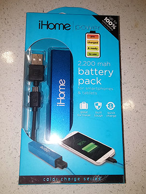 iHome Pocket Power – Product Review