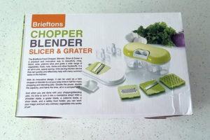 Brieftons Chopper Blender Slicer & Grater – Product Review