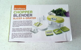 Brieftons Chopper Blender Slicer & Grater – Product Review