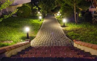 Landscape Lighting Adds Curb Appeal