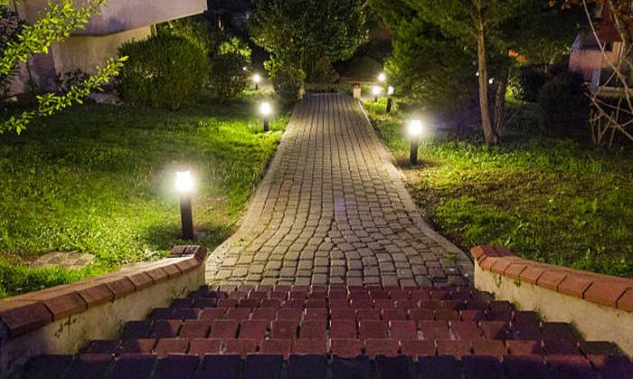 landscape lighting adds curb appeal georyl